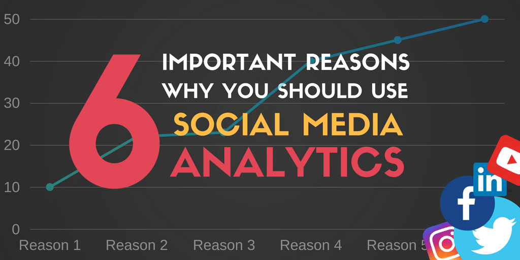 6 Important Reasons why you Should Use Social Media Analytics