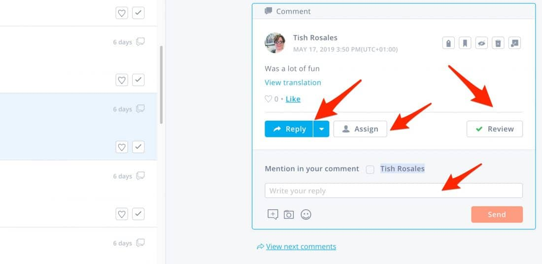 Managing Facebook Live Comments in Agorapulse