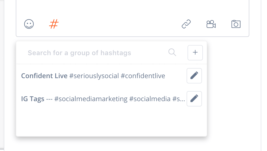 Agorapulse Hashtag Groups