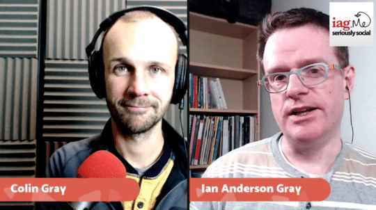 Colin Gray and Ian Anderson Gray on BeLive