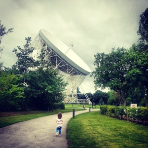 Daughter by Jodrell Bank