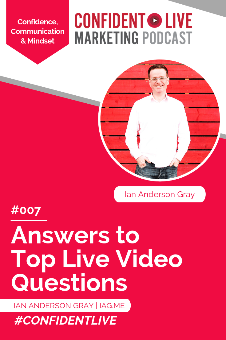 Answers to Top Live Video Questions