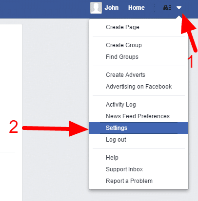 How to Make your Facebook Account Private