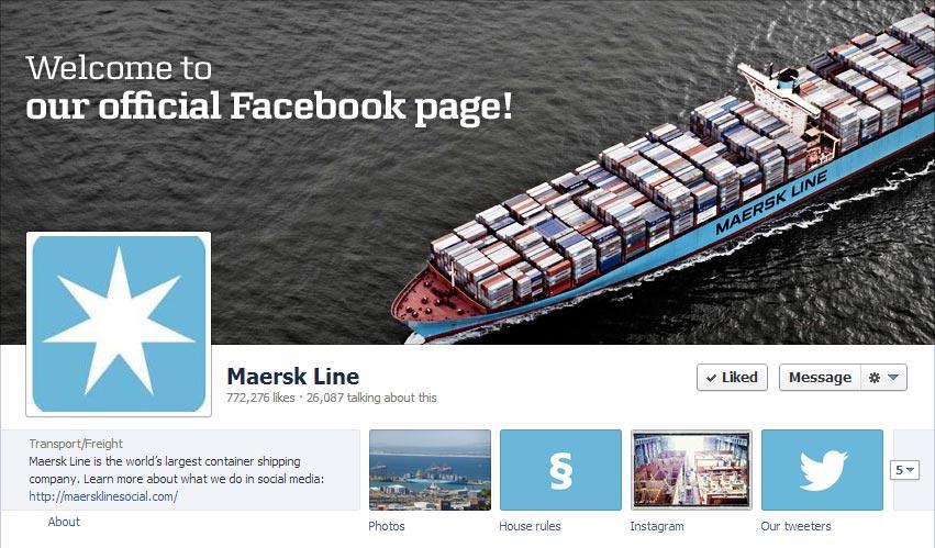 MaerskLine Facebook