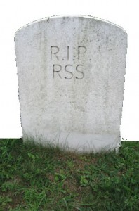 RIP RSS