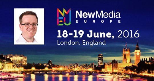 New Media Europe 2016 - London