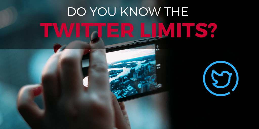 Do you know your Twitter Limits?