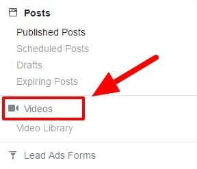 Facebook Page Video