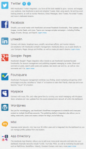 Social networks to use with Hootsuite