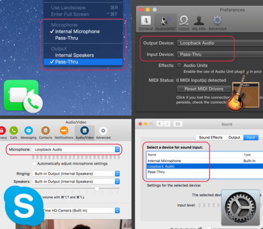 Loopback can route the audio from Zoom or Skype to OBS Studio to capture your co-host's audio