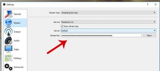 paste-stream-key