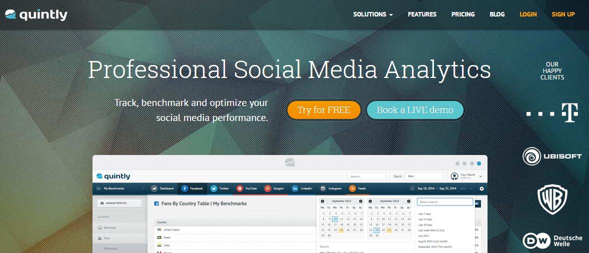 quintly linkedin analytics