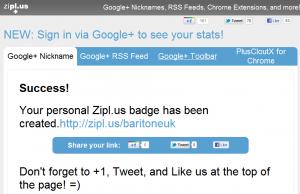 zipl.us RSS feed