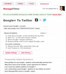 Manage Flitter Screenshot 2