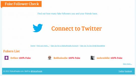 Fake Follower Checker