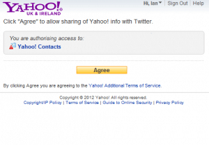 Yahoo! Mail Permissions