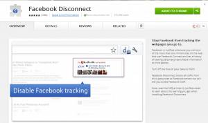 Facebook Disconnect