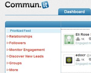 6 categories in commun.it