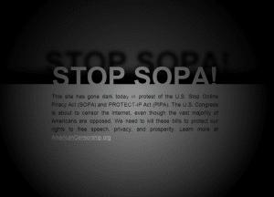 Stop Sopa Example