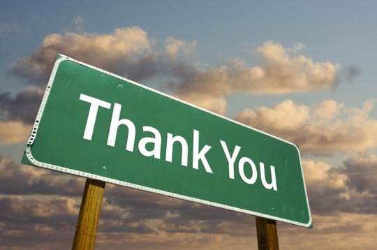 Stop Saying Thank You on Social Media and Say Something Meaningful!