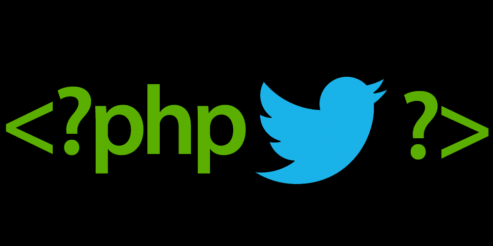 Twitter API using PHP