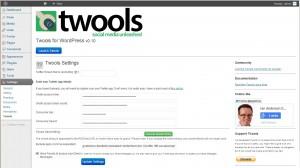 Twools for WordPress